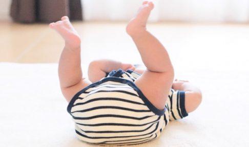 赤ちゃんヒップアップ