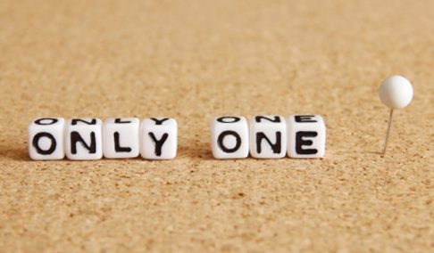 only one の付加価値